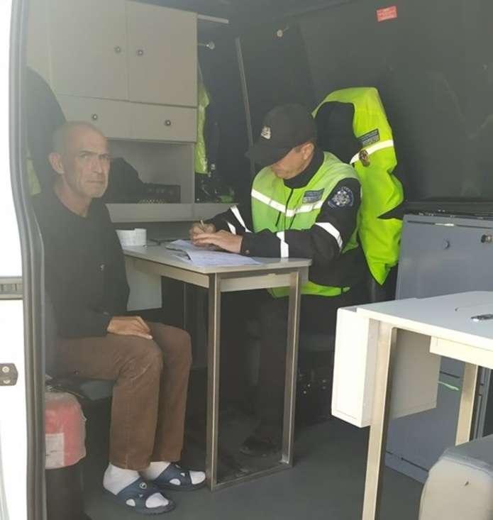 Украинская полиция поймала дальнобойщика за ана..низмом