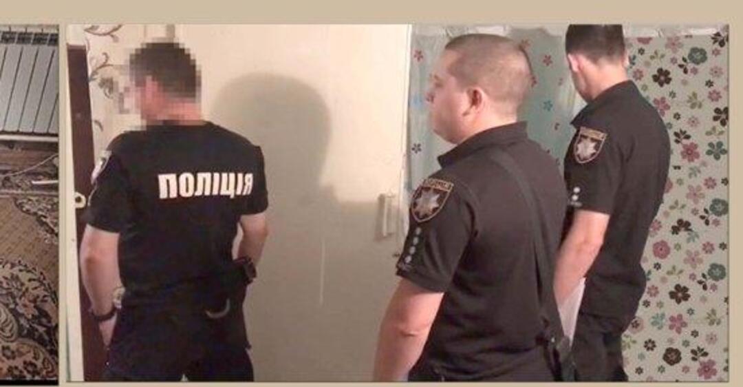 в Украине опять вы*бали полицейского