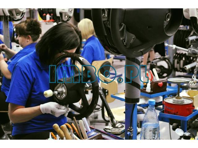 Работа на фабриці з виробництва рулів до автомобілей преміум класа - 1