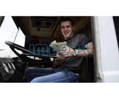 Zawód kierowca ciężarówki