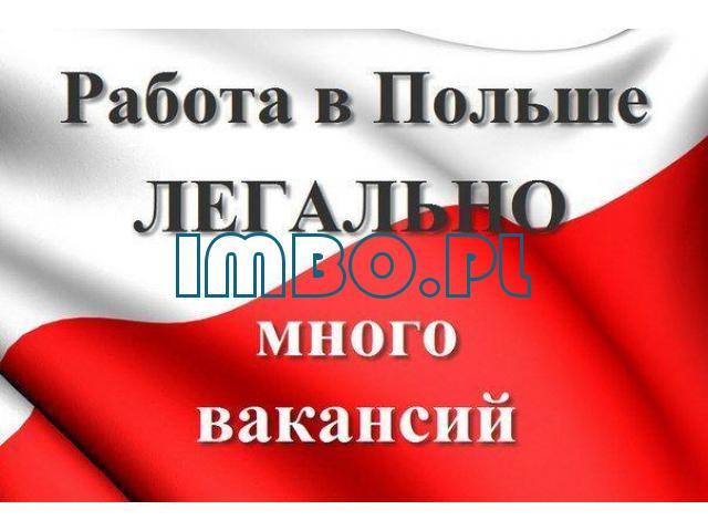 Работа в Польше вакансии бесплатные заводы, фабрики и т.д. - 1