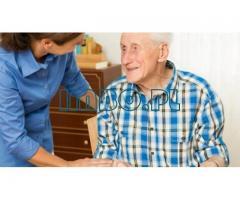 Для пожилого человека трбебуется сиделка